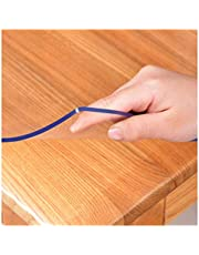 Table Cover Glass Dust-proof High Stability No-wash PVC Table Cloth Used for Dining Table, Restaurant, TV Cabinet, 2.0mm, 22 Specifications ALGWXQ (Color : 2.0mm, Size : 70X140cm)