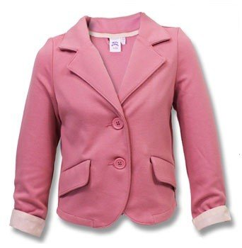 Girls Light Weight Pink Blazer Jacket 7-8 Years: Amazon.co.uk