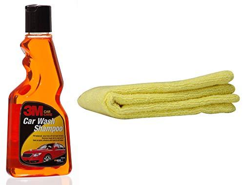 3M IA260100432 Auto Specialty Shampoo  250 ml   amp; 3M Car Care Microfibre Cloth