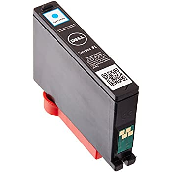 Dell PYX1V Single Use Series 31 Ink SY for Dell V525w/V725w, Cyan