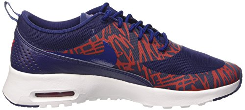 Max Air Running Print NIKE Lyl Women Red WHT 8 Lyl University Blue Women's Thea Shoe US Bl fTw7E7