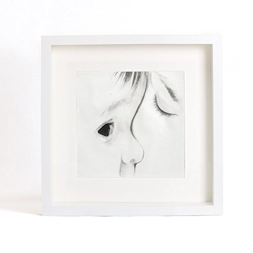 Original Watercolor Painting, Mother and Child's Portrait, Black and White, Unique Gift for New Mother from IGREANpainting