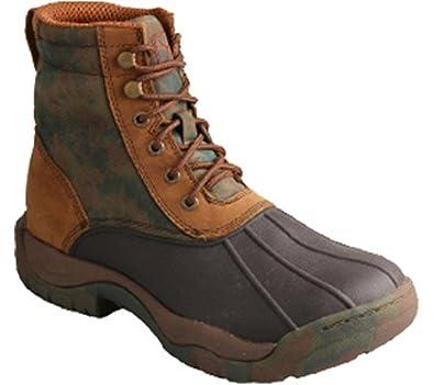 "Women's Camo 6"" Rubber Boot Round Toe - Wglw001"