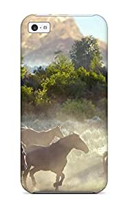 Irene R. Maestas's Shop Lovers Gifts 5569966K18976549 Premium Durable Horse Fashion Tpu Iphone 5c Protective Case Cover