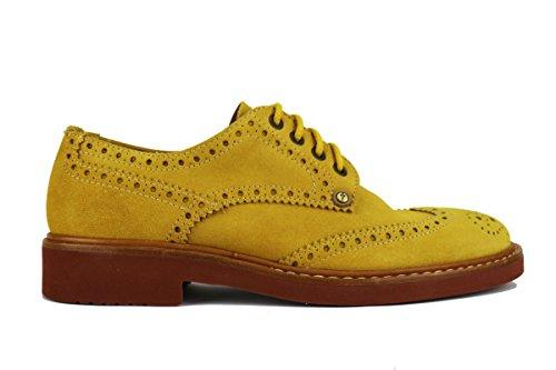 Paciotti beige Giallo Cesare Uomo Giallo Camoscio Classiche 308 Madison 1xwxU7dq4