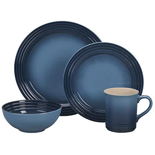 Le Creuset of America PGWSV16-036M Dinnerware Set, 16 Piece,