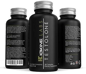 Tabletas de refuerzo de testosterona - Suplemento de refuerzo de prueba natural # 1 de Bioking Labs: Amazon.es: Salud y cuidado personal