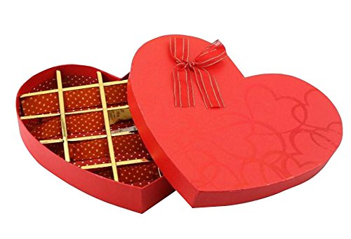 (Black Temptation Heart - Shaped Candy Box DIY Chocolate Box Decorative Boxes)
