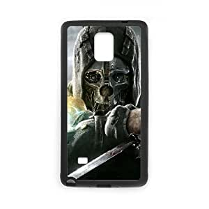 Dishonored Samsung Galaxy Note 4 Cell Phone Case Black yyfD-212411