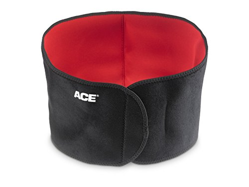 Ace Adjustable Contoured Back Support, Americas Most Trusted Brand of Braces and Supports, Money Back Satisfaction Guarantee