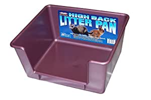 Marshall High Back Ferret Litter Pan(Colors May Vary)