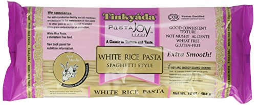 Organic Rice Macaroni - Tinkyada Pasta Joy Ready, Spaghetti, White Rice, 16 oz