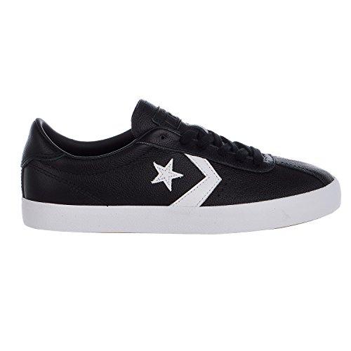 Converse Breakpoint Leather Low Top Unisex shoes (6 D(M) US, Black / White / Black)
