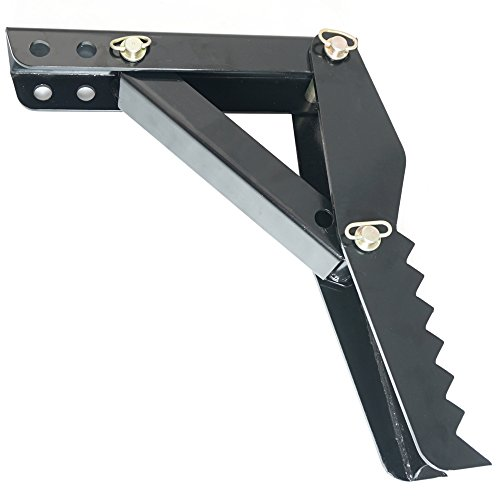 24'' Backhoe Thumb Hoe Clamp 1/2'' Steel Plate Assembly Weld On Adjustable Folding by Titan Attachments (Image #3)'