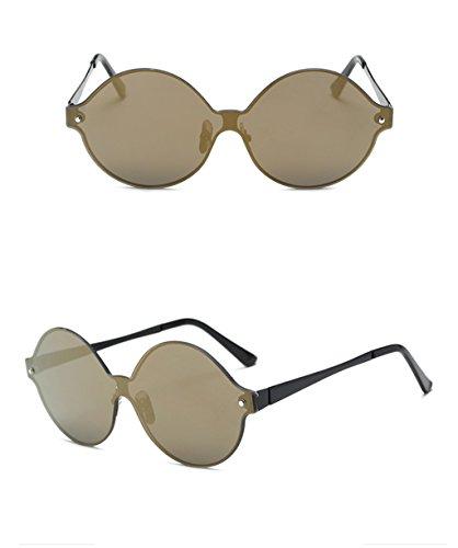 Soleil Lunettes des Lunettes 3 Couleur Retro X Sunglasses Soleil 6 de Mode Lunettes Pilote Lady Drive de qCqxzU0