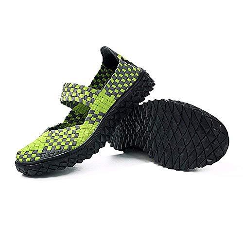 Scarpe Deed Sports 36 Woven Shoes Donna Elastic Band 's Da Leisure Eu Ginnastica 6OgnqrxvdO