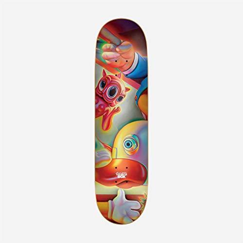 DGK Skateboard Deck Ron English #4 8.0