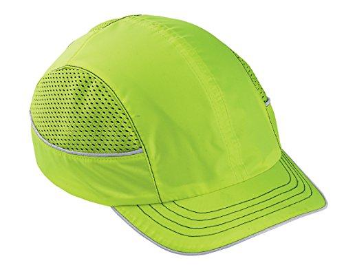 Safety Bump Cap, Baseball Hat Style, Breathable Head Protection, Short Brim, Skullerz 8950