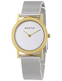 Bering Time 13427-010 Ladies Silver Classic Mesh Watch