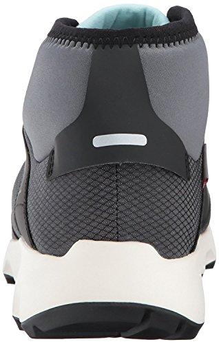 Scarpe Da Trekking Adidas Per Donnax Voyager Outdoor Da Donna (8.5, Grigio / Nero / Bianco Gesso)