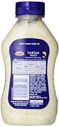 Kraft Tartar Sauce, 12-Ounce Squeeze Bottles (Pack of 6)