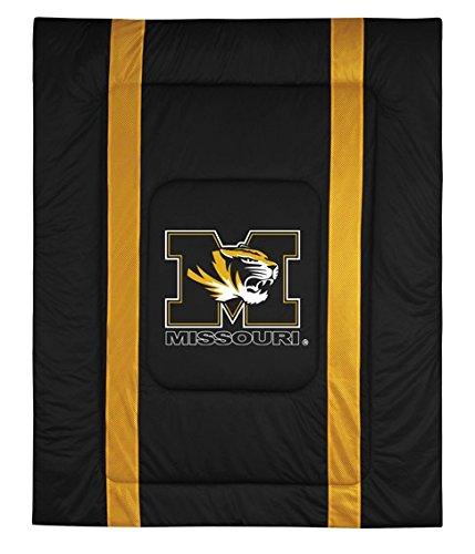 University of Missouri Jersey Stripe Comforter (Twin)