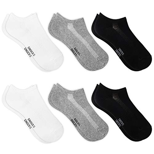 Snocks Sneaker Socken Herren & Damen (6x Paar) Sneakersocken