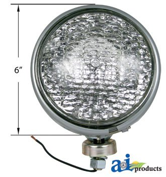 A&I - Headlamp, Sealed Beam (12 Volt). PART NO: A-186141M1
