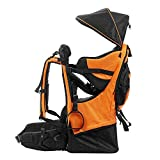 lixada Premium Baby Backpack Carrier for Hiking with Kids - Camping Cross Country Child Carrier with Stand & Sun Shade Visor Kid Toddler. Carry Your Child Ergonomically, Lightweight - 3.9lbs