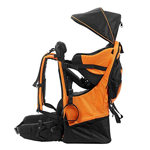 lixada Premium Baby Backpack Carrier for Hiking with Kids - Camping Cross Country Child Carrier with Stand & Sun Shade Visor Kid Toddler. Carry Your Child Ergonomically, Lightweight - 3.9lbs ()