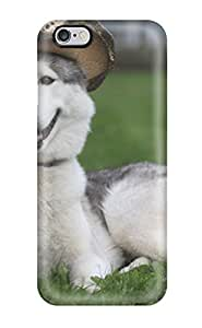 High Quality Shock Absorbing Case For Iphone 6 Plus-animal Wolf