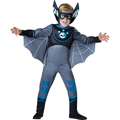 (InCharacter Costumes Bat - Blue Costume, One Color,)