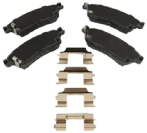 Pads Original Equipment Replacement - ACDelco 171-1096 GM Original Equipment Rear Disc Brake Pad Kit with Brake Pads and Clips