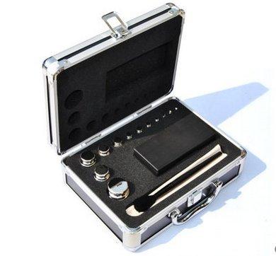 Huanyu F2 Grade 304 Edelstahl Digitalwaage Kalibriergewichte Kit Set, 24 Stk. 1mg-500g