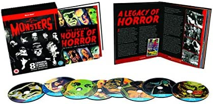 Universal Classic Monsters: The Essential Collection 8 Blu ...