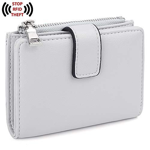 9a6458cd3f1f UTO Women's RFID Blocking PU Leather Wallet Card Holder Organizer ...