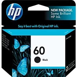 Amazon.com: Cartucho de tinta HP 60 negro original (CC640WN ...