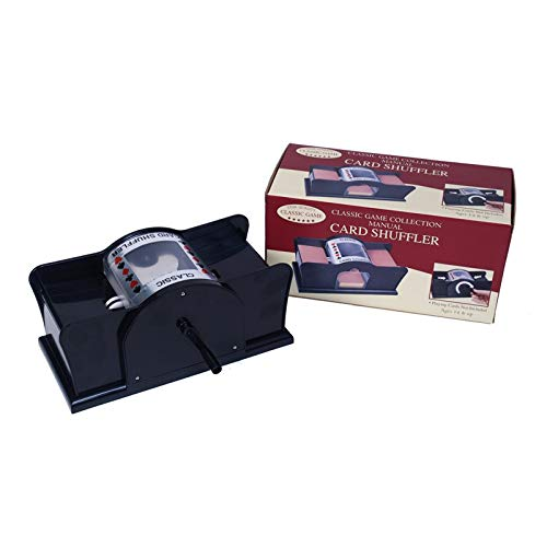 Manual Card Shuffler with Two Playing Card Decks ()