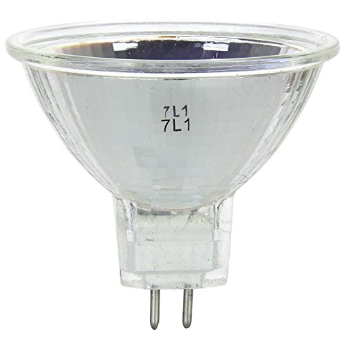 Mr16 Mini Reflector - Sunlite 20MR16/NSP/12V 20-Watt Halogen MR16 GU5.3 Based Mini Reflector Bulb
