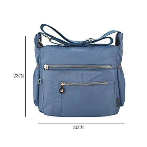 XUE - Borsa in Tote da Palestra Donna Borsa grande borsa da spiaggia con cerniera smontabile (30 * 23cm) (Tracolla: regolabile)