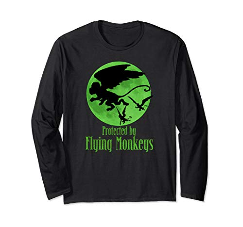 (Protected by Flying Monkeys T-shirt Wizard of Oz Witch)