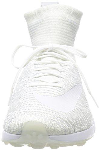 Nike Zoom Mercurial Xi Flyknit Schoen Wit / Wit-wolf Grijs-puur Platina