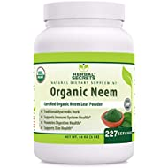 Herbal Secrets Organic Neem Powder - 16 Ounces (Non-GMO) - Support Immune System Health, Digestive Health & Skin Health*