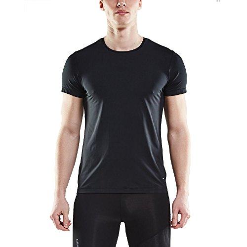 Craft homme Essential RN SS M T-shirt pour homme, noir, XL