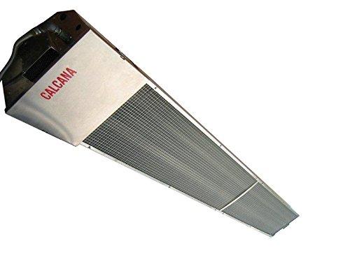 Calcana PH-75-HO 10′ Gas Patio Heater Ceiling Mount Angled Review
