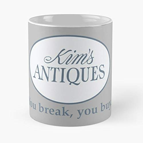 Mrs Kim Lane Stars Hollow Kims Antiques - Funny Gifts For Men And Women Gift Coffee Mug Tea Cup White 11 Oz The Best Gift Holidays.