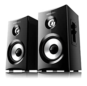 Alienvibes 20W 2.0 Channel Multimedia Desktop PC Speaker, Black (S101)