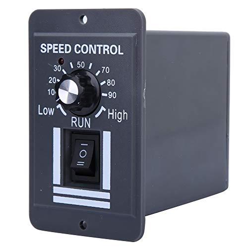 DCモーター速度調整器12V-60V 10A CW CCW調整可能なモーターガバナースイッチ