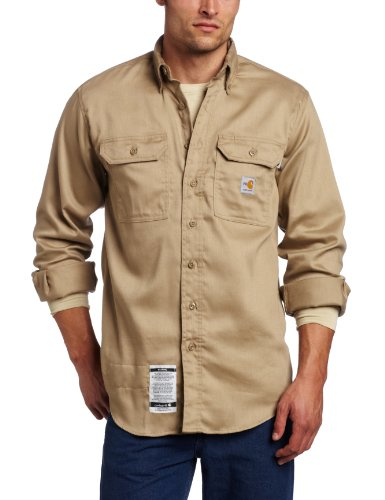 Carhartt Men's Big & Tall Flame Resistant Lightweight Twill - Dry Carhartt Work
