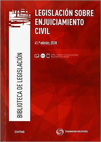 Legislación sobre enjuiciamiento civil Biblioteca de Legislación: Amazon.es: Julio Banacloche Palao: Libros